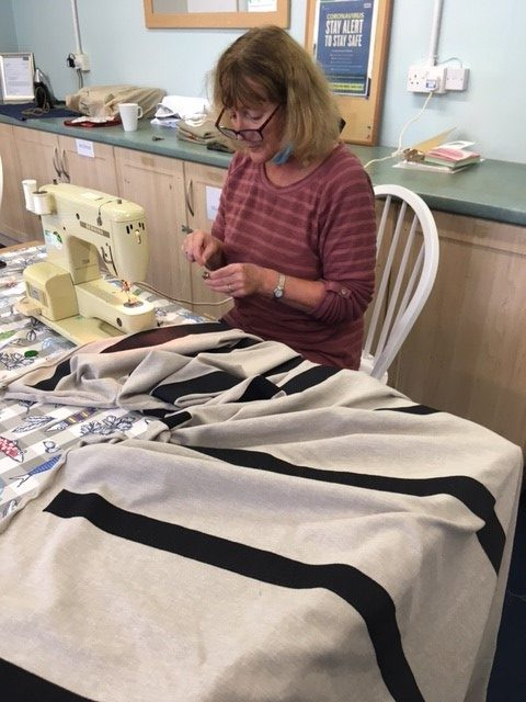 Therapeutic power of sewing